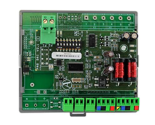 Modulo individuale cablato, interfaccia Hitachi RPI