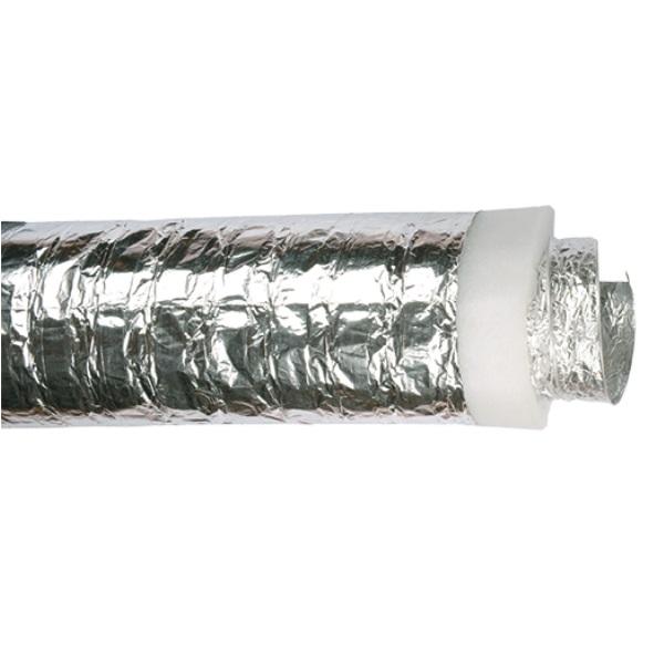 Tubo flessibile in alluminio isolato da Ø 200 mm