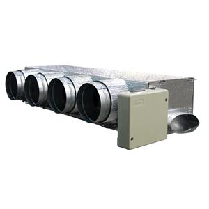 Easyzone IAQ Basso Profilo + VMC IB8 Carrier