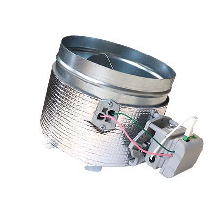 Serranda Airzone da 200 mm di ricambio con motore e purificazione (BS)