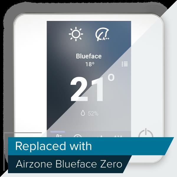 Termostato colori Airzone Blueface a cavo (RA6)
