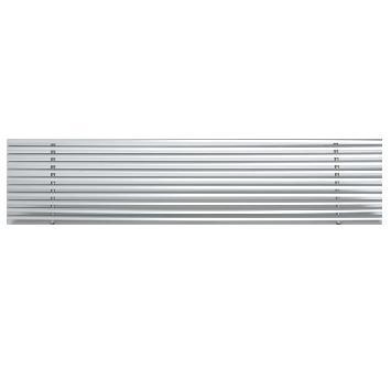 Griglia lineare a lama fissa 15° per soffitti modulari senza bordocornice