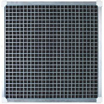 Filtro antiparticolato per griglia