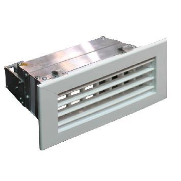 Griglia di mandata motorizzata con doppia deflessione orizzontale-verticale